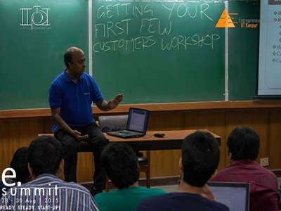Getting your First Few Customers - IIT Kanpur e-cell1