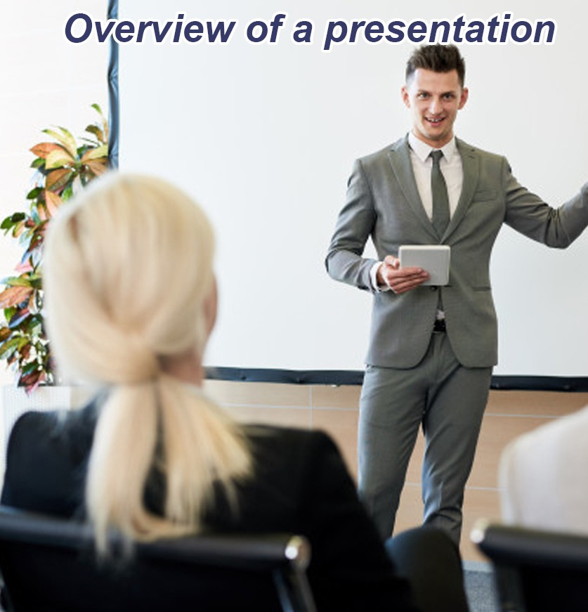 Overview of a presentation