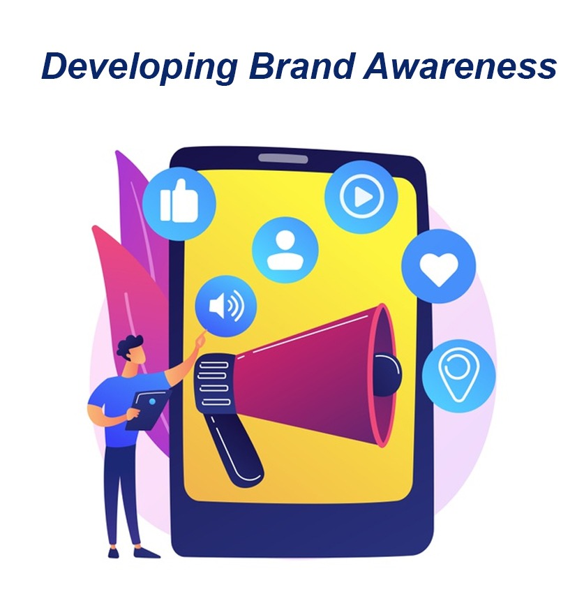 developing brand awareness