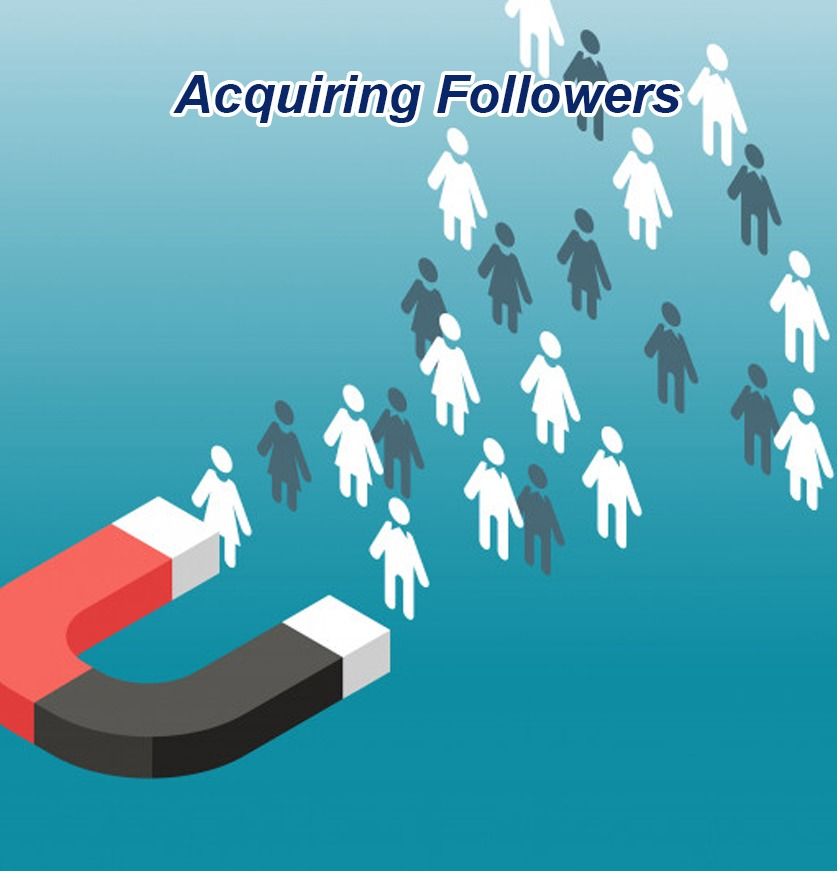 Acquiring Followers