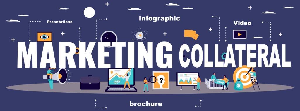 marketing collaterals preparation services